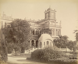 New Palace at Makarpura, Zenana Porch [Vadodara]